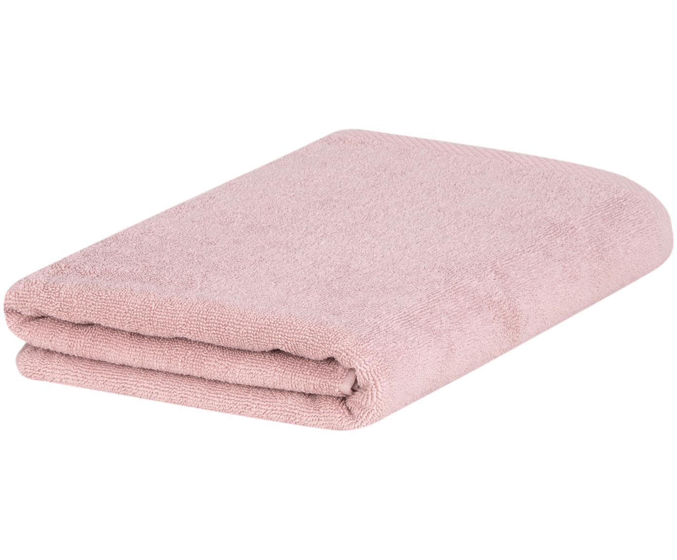 Einfarbiges Handtuch Comfort, Altrosa, Gästehandtuch