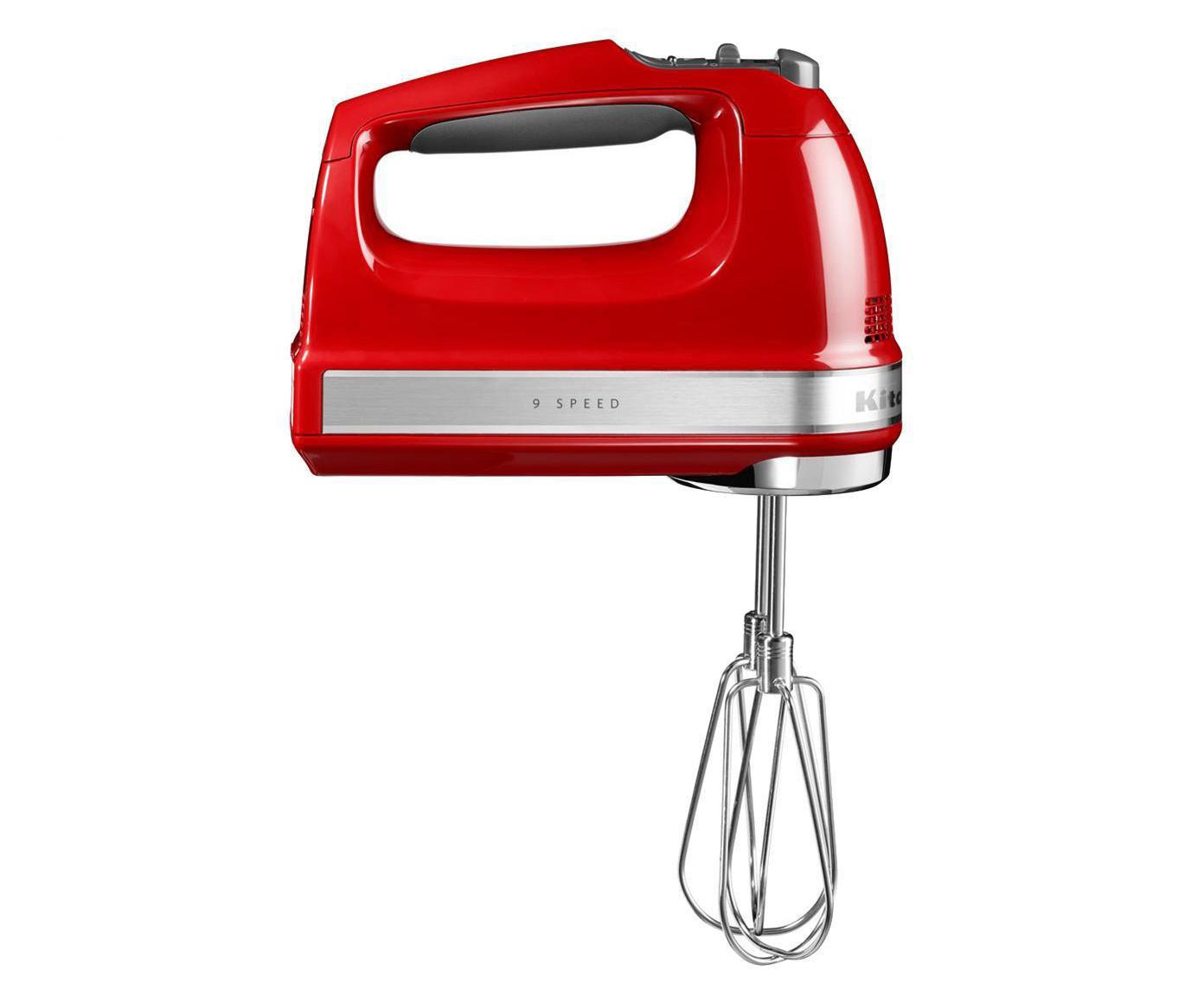 Sbattitore elettrico KitchenAid, Rosso, lucido, P 15 x A 20 cm