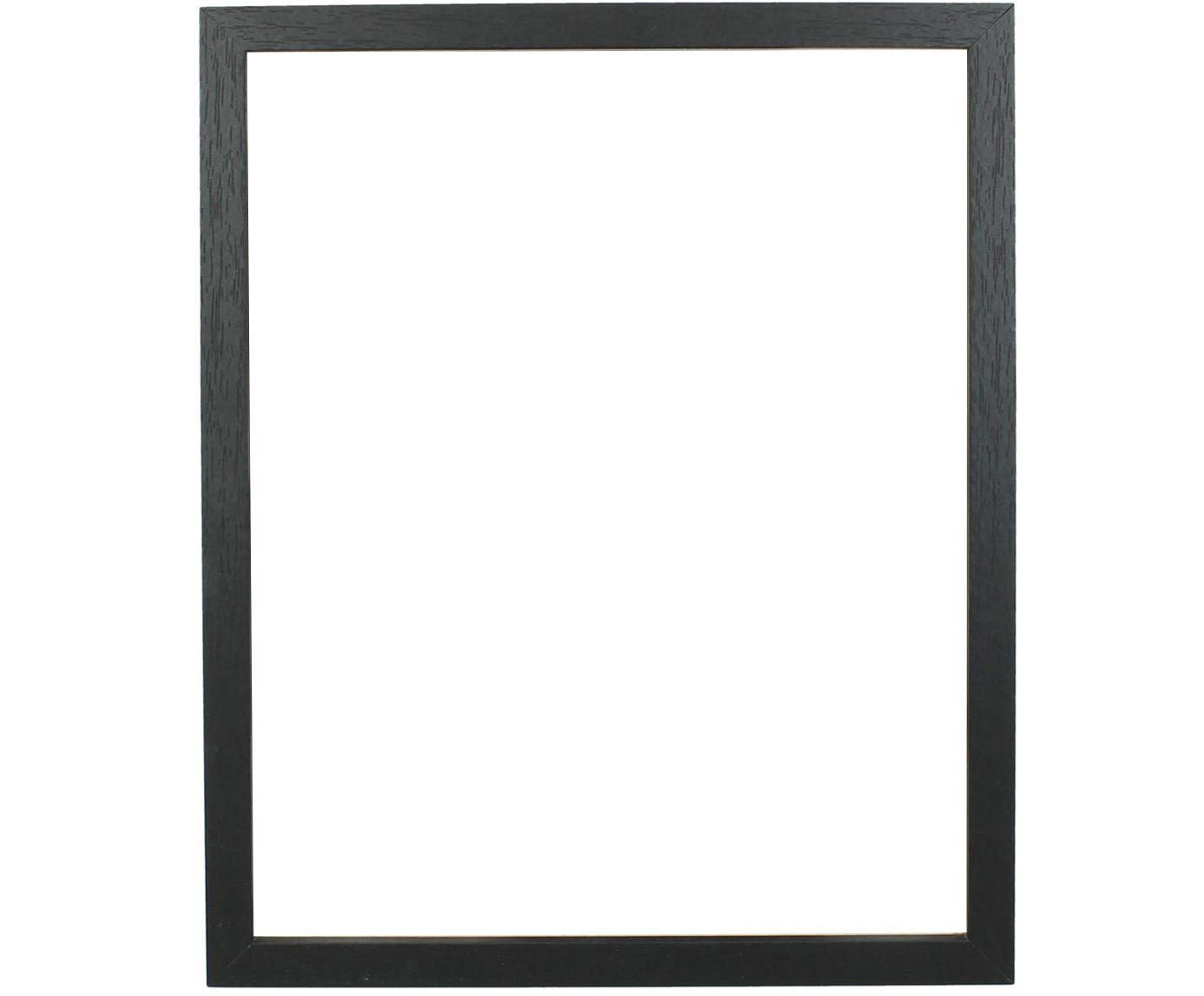 Cornice Seril, Cornice: Pannello di fibra a media, Nero, 13 x 18 cm