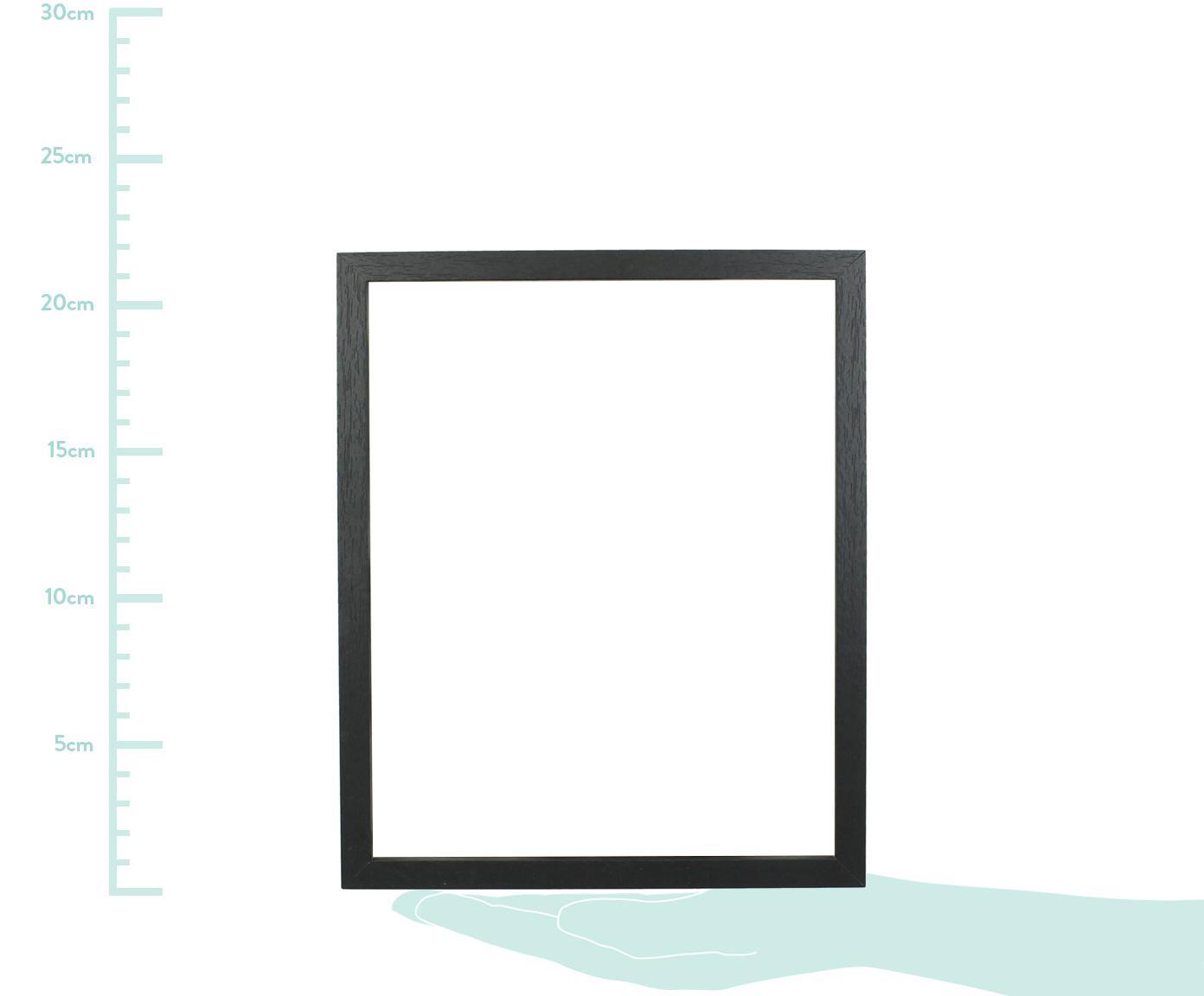 Ramka na zdjęcia Seril, Czarny, 13 x 18 cm