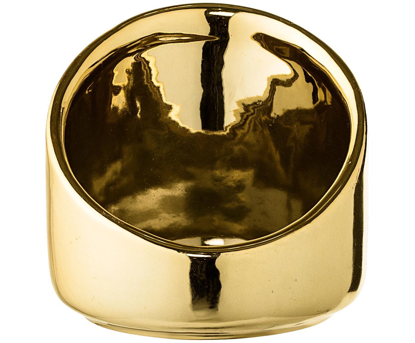 Portalumini Mara, Gres, Dorato, Ø 8 x A 8 cm
