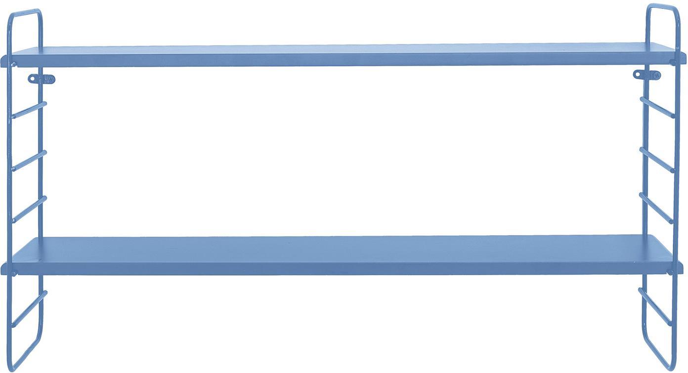 Wandregal Kimi, Blau, 65 x 35 cm