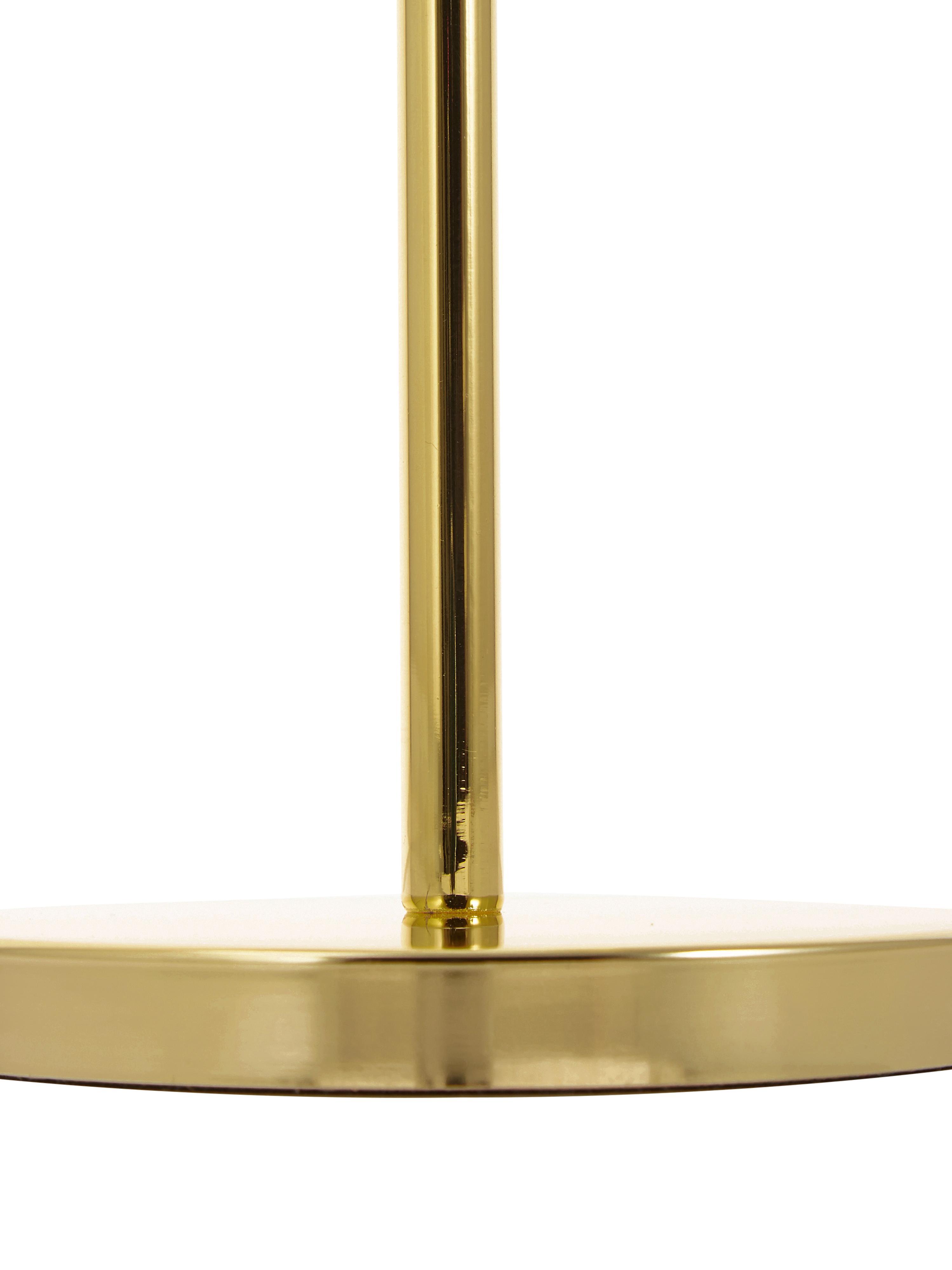 Kosmetikspiegel Classic mit Vergrößerung, Rahmen: Metall, Spiegelfläche: Spiegelglas, Rahmen: GoldfarbenSpiegelfläche: Spiegelglas, Ø 20 x H 35 cm