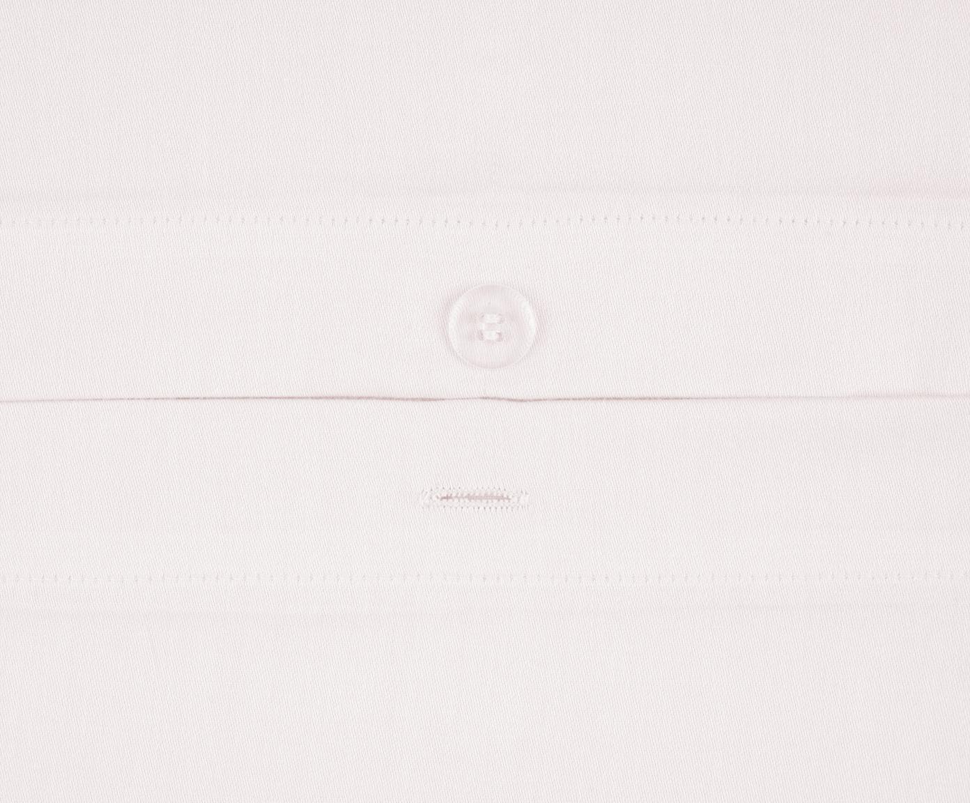 Parure copripiumino in raso di cotone Comfort, Rosa, 255 x 200 cm