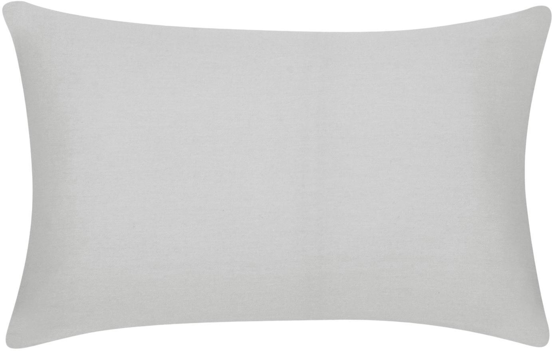 Federa arredo in cotonegrigio chiaro Mads, 100% cotone, Grigio chiaro, Larg. 30 x Lung. 50 cm