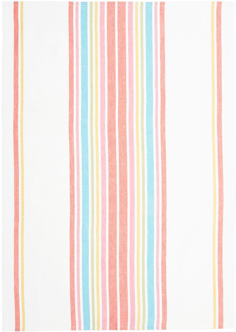 Theedoeken Katie, 2 stuks, Katoen, Multicolour, 50 x 70 cm