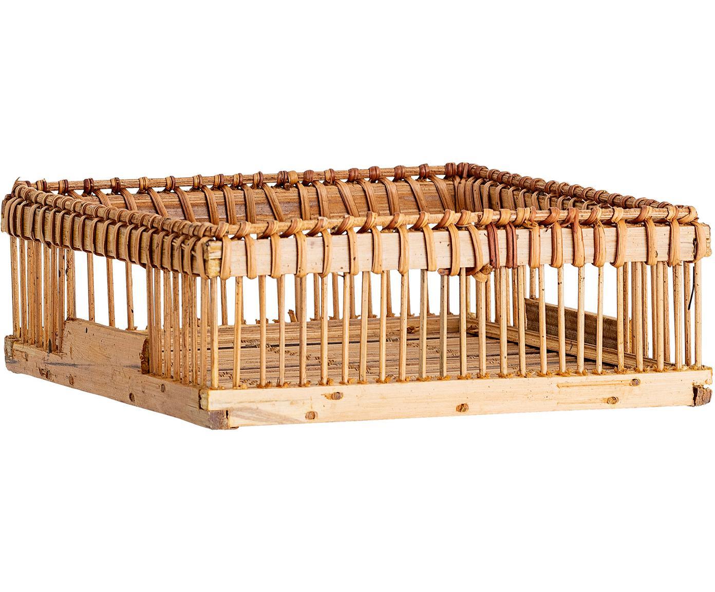 Servettenhouder Lamgo, Bamboehout, Bamboehoutkleurig, B 18 x D 18 cm