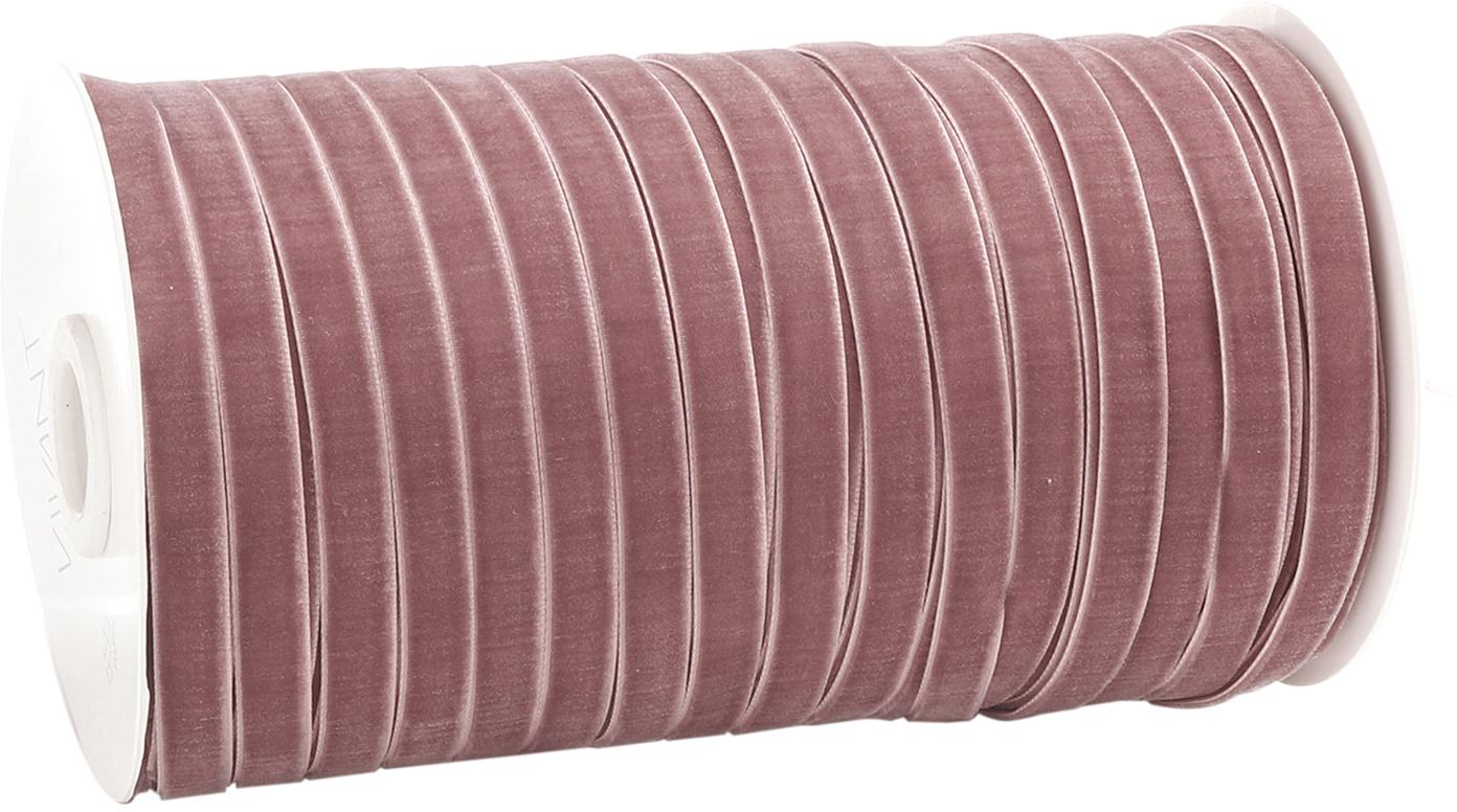 Geschenkband Velveta, Nylon, Rose, 1 x 10000 cm