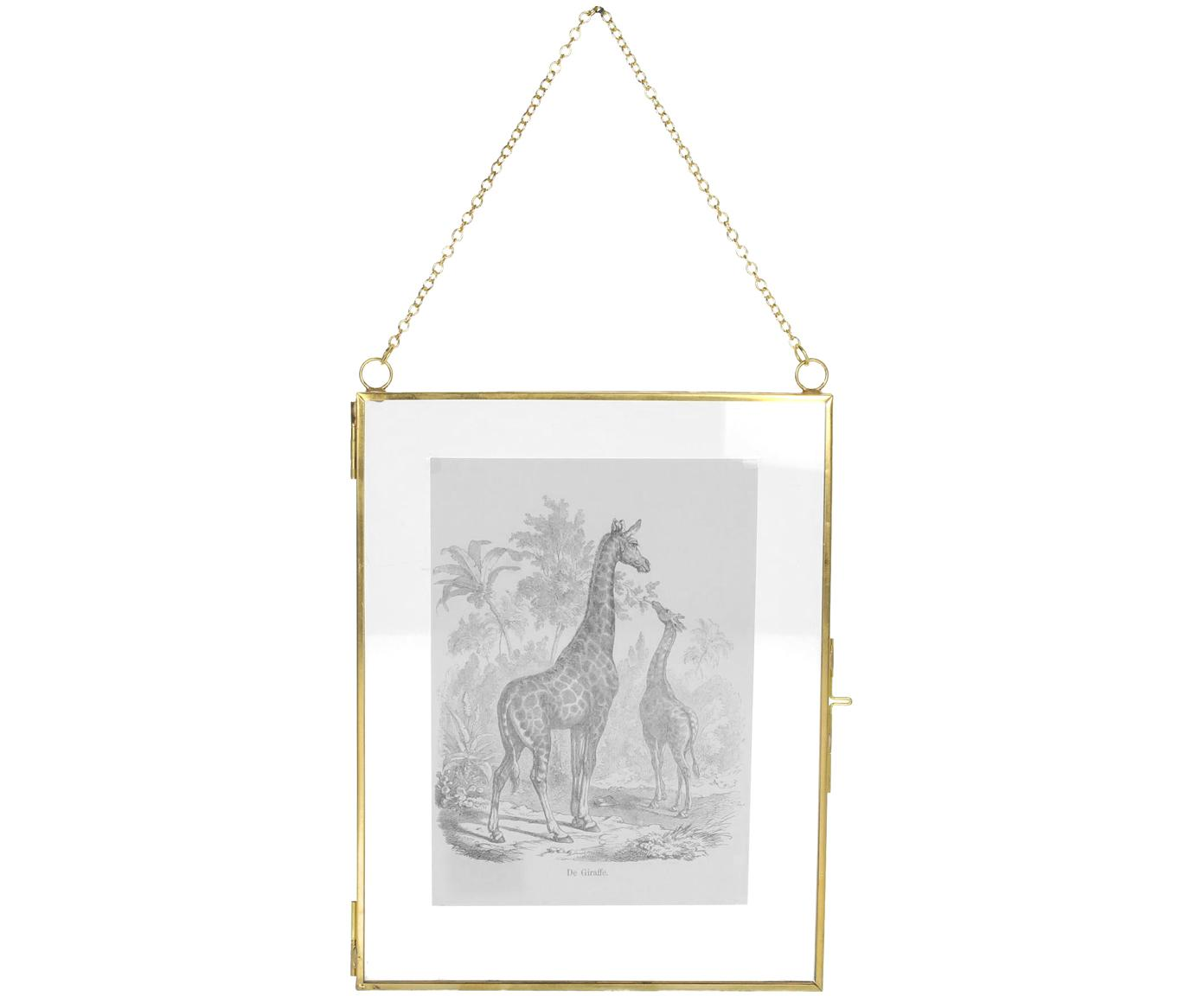 Fotolijstje Linetti, Messingkleurig, 13 x 18 cm