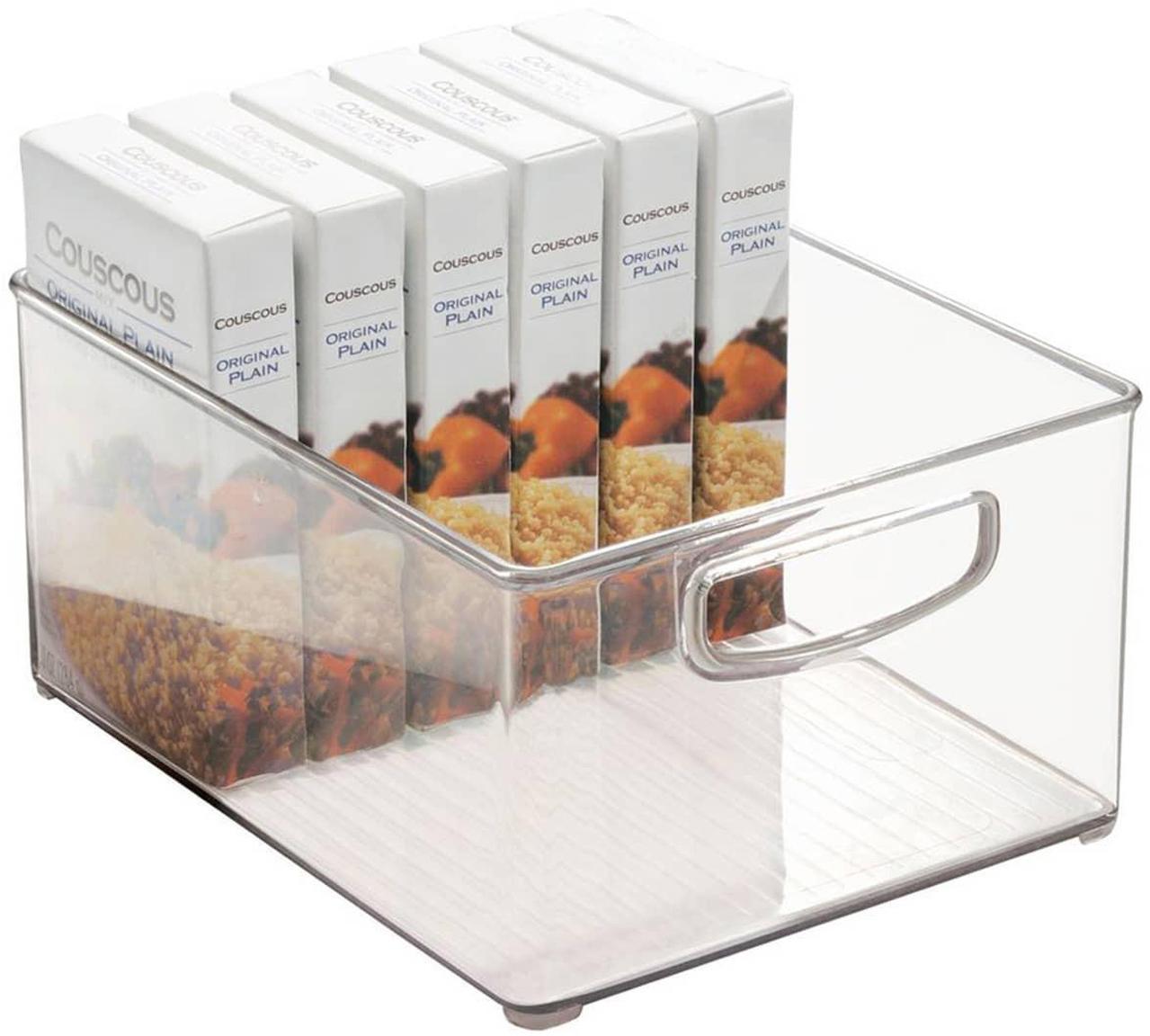 Organizador de cocina Binz, Acrílico, Transparente, An 25 x Al 13 cm