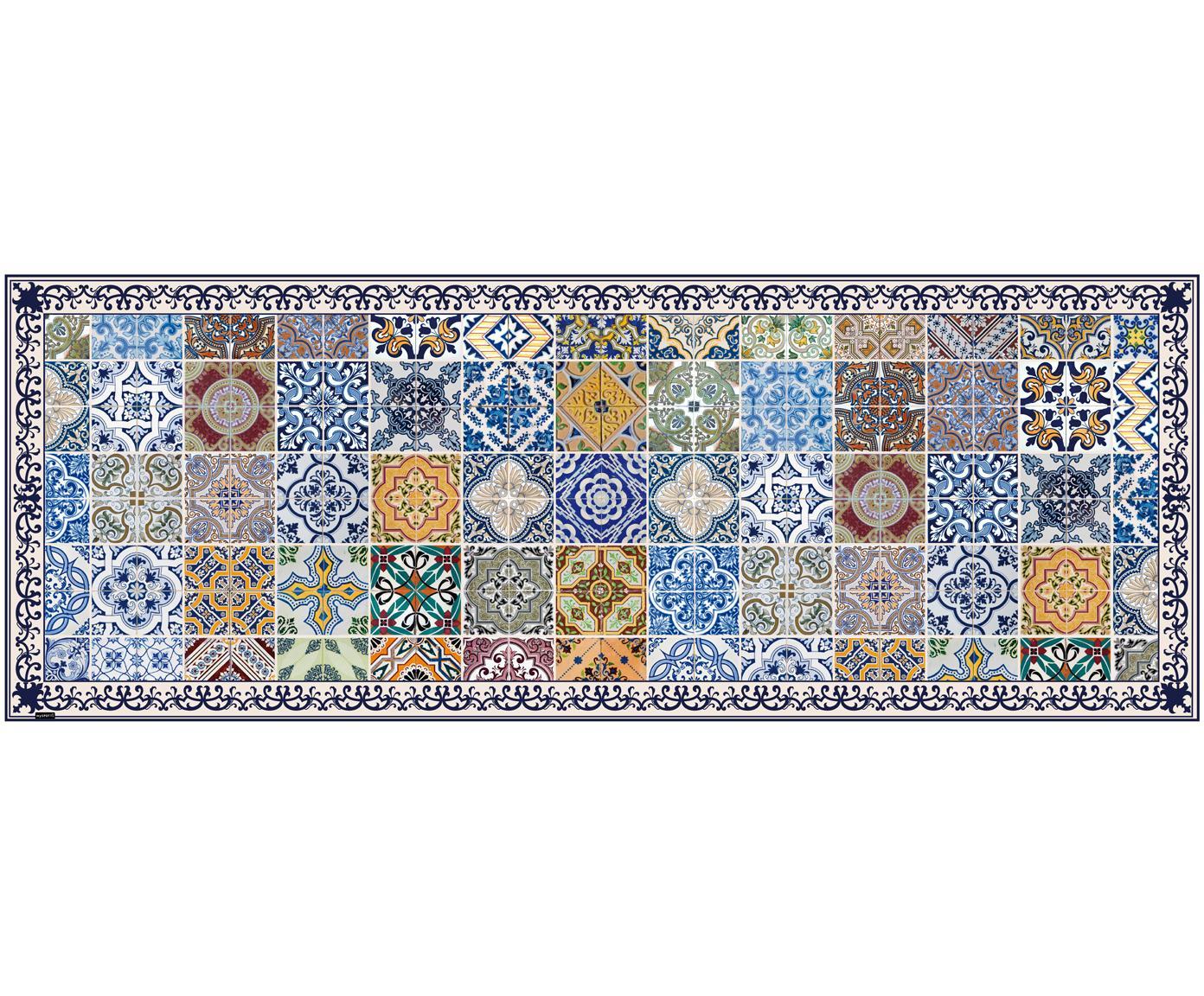 Mata podłogowa z winylu Pablo, Winyl pochodzący z recyklingu, Wielobarwny, S 68 x D 180 cm