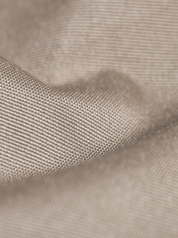 Outdoor ligzak Wave, Bekleding: polyester, polyurethaan g, Moddergrijs, B 70 x D 125 cm