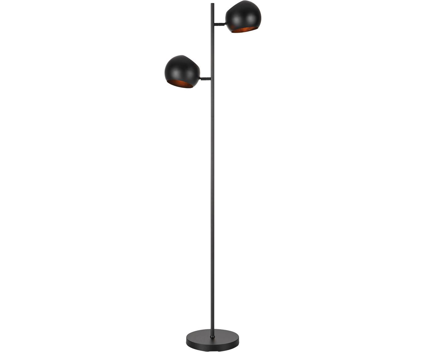 Lampa podłogowa Edgar, Czarny, S 40 x W 145 cm