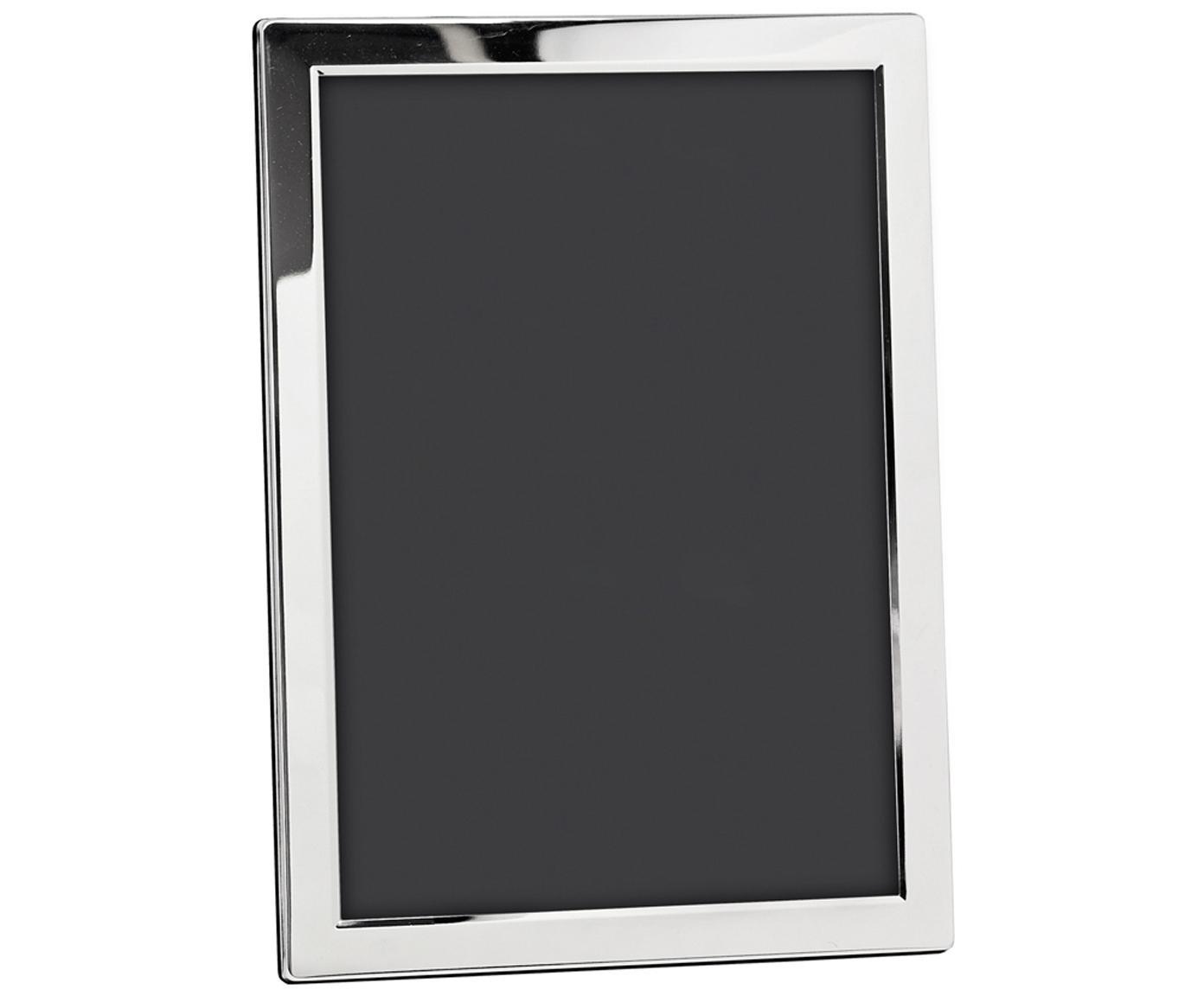 Fotolijstjes Carrara, Frame: verzilverd staal, Frame: zilverkleurig voorkant: transparant, 20 x 30 cm