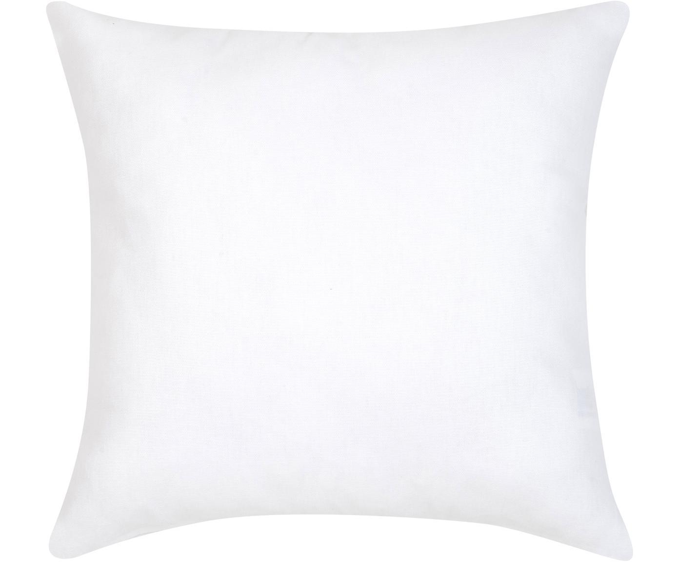 Povlak na polštář se zimním motivem Nordic, Bílá, červená
