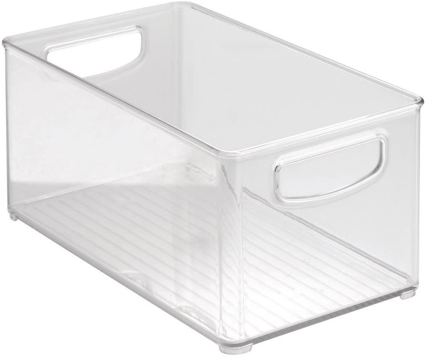 Organizador de cocina Linus, Acrílico, Transparente, An 15 x F 25 cm