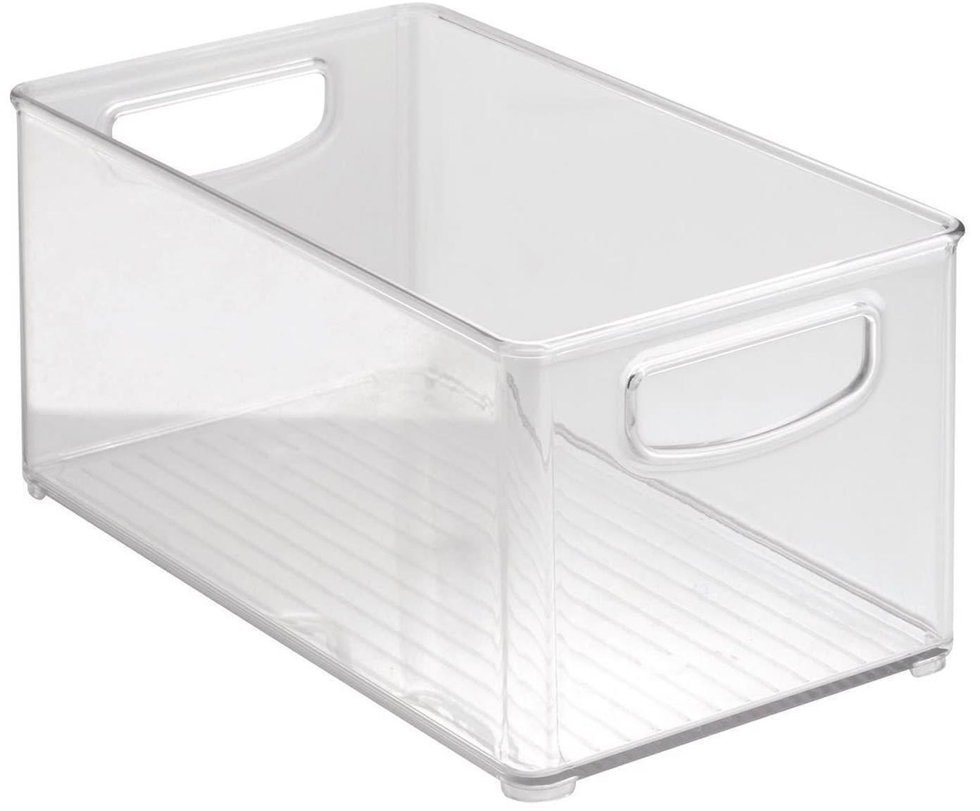 Organizador de cocina Linus, Plástico, Transparente, An 15 x F 25 cm