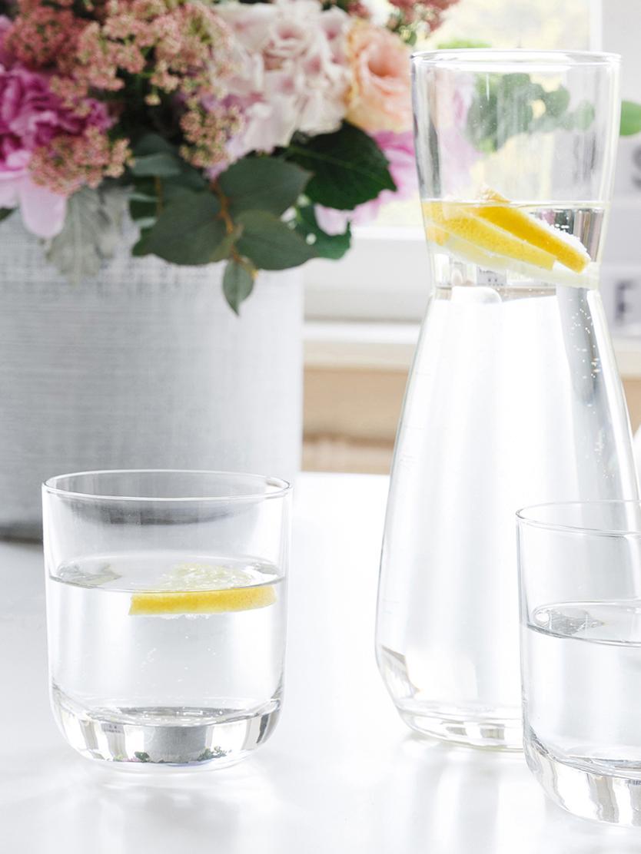 Verres à eau ou à whisky en cristal Harmony, 6pièces, Transparent