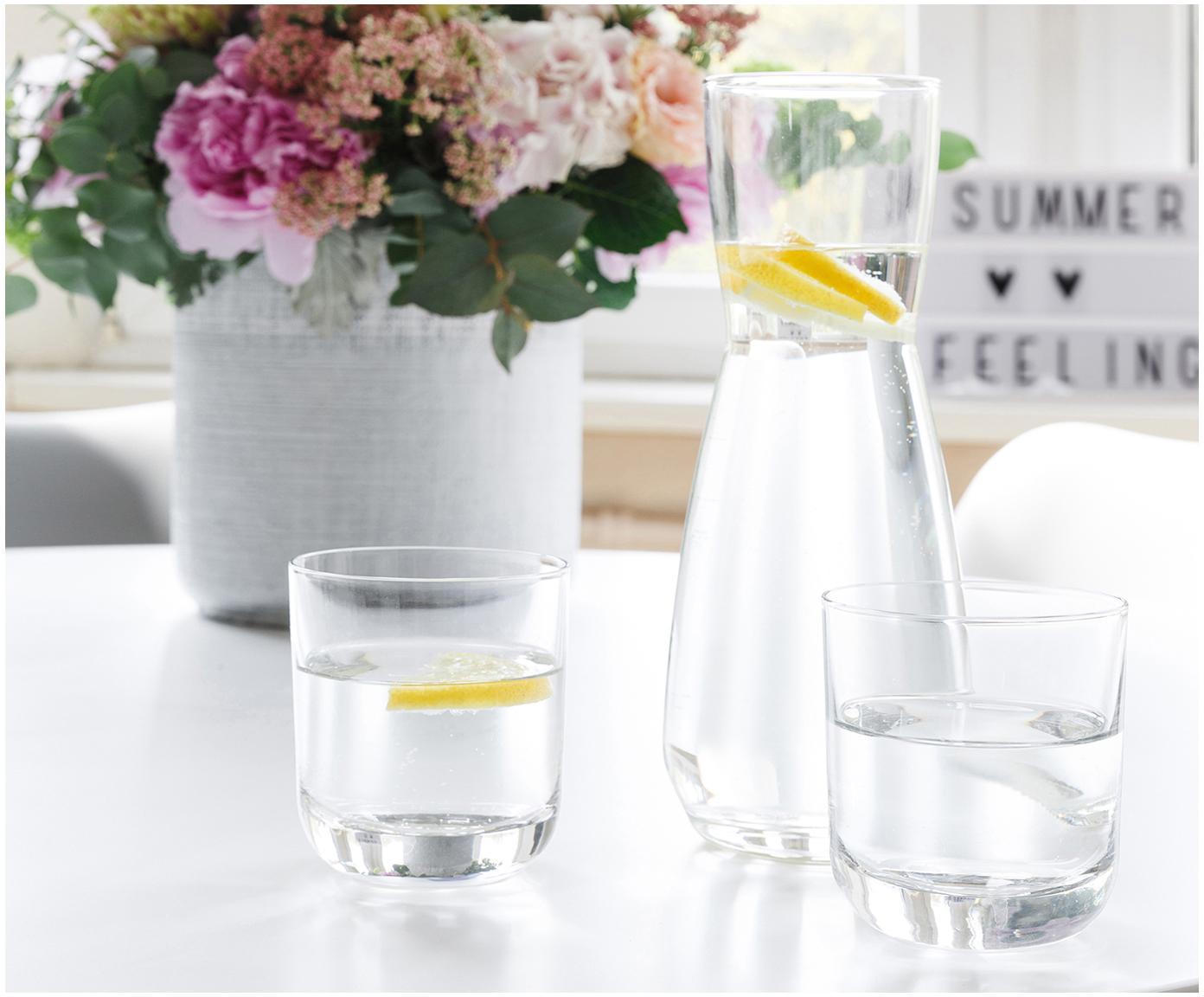 Kryształowa szklanka z cienkiego szkła  Harmony, 6 szt., Szkło kryształowe o najwyższym połysku, szczególnie widocznym poprzez odbijanie światła, Transparentny, 300 ml