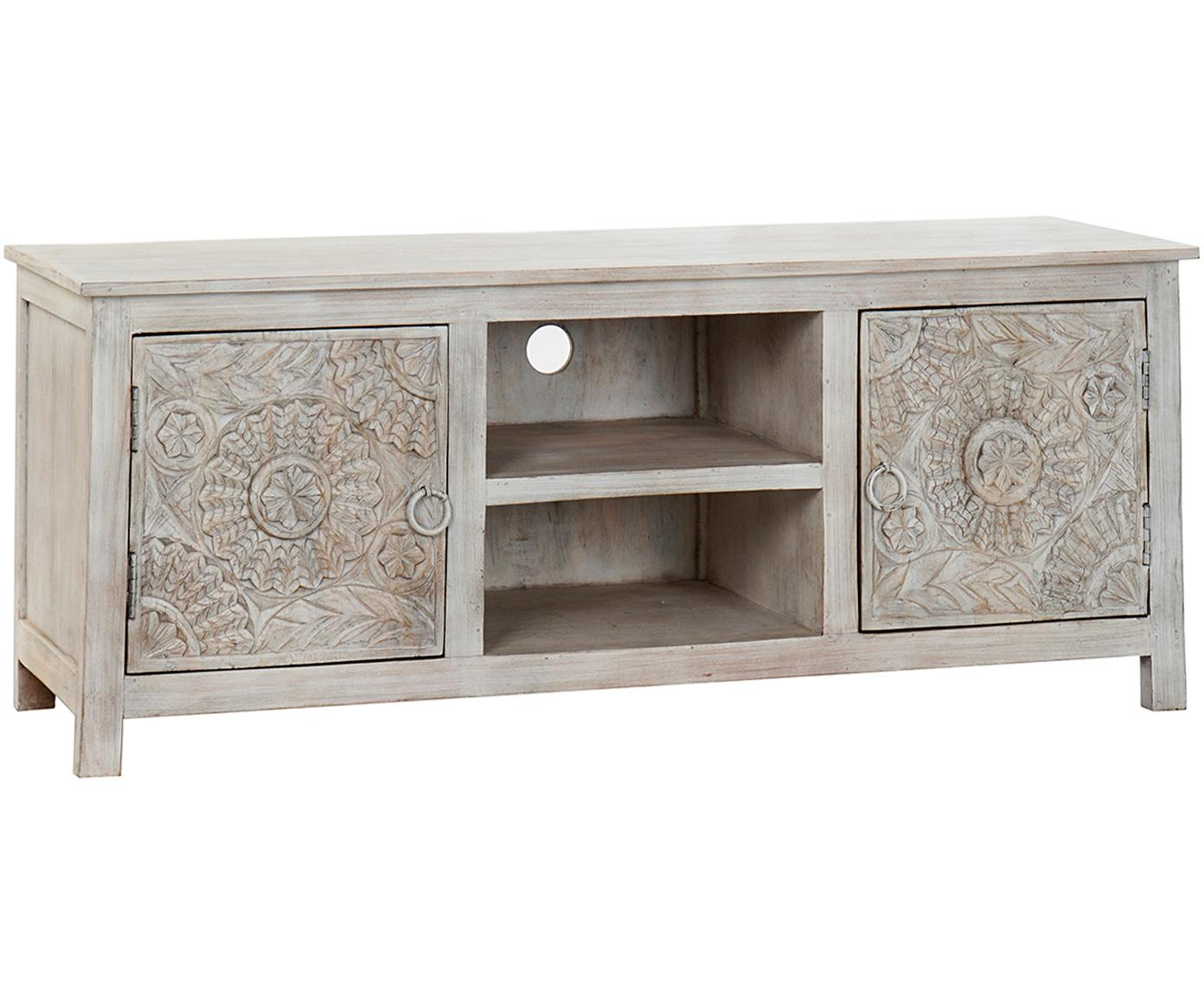 Mueble TV Magni, Blanco, An 151 x Al 60 cm