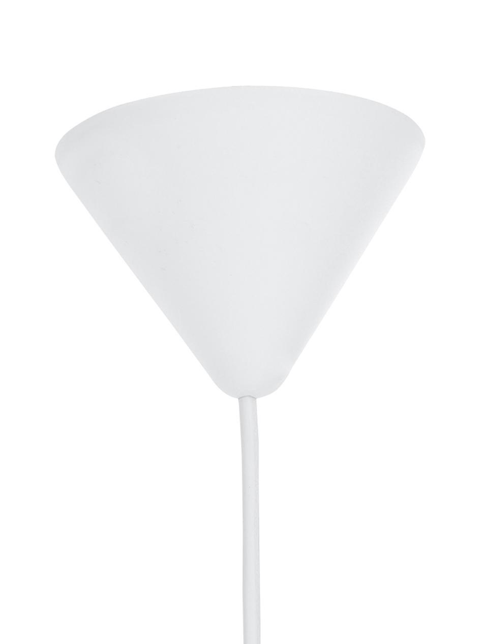 Lampada a sospensione Colorain, Grigio pietra, Ø 31 x Alt. 135 cm