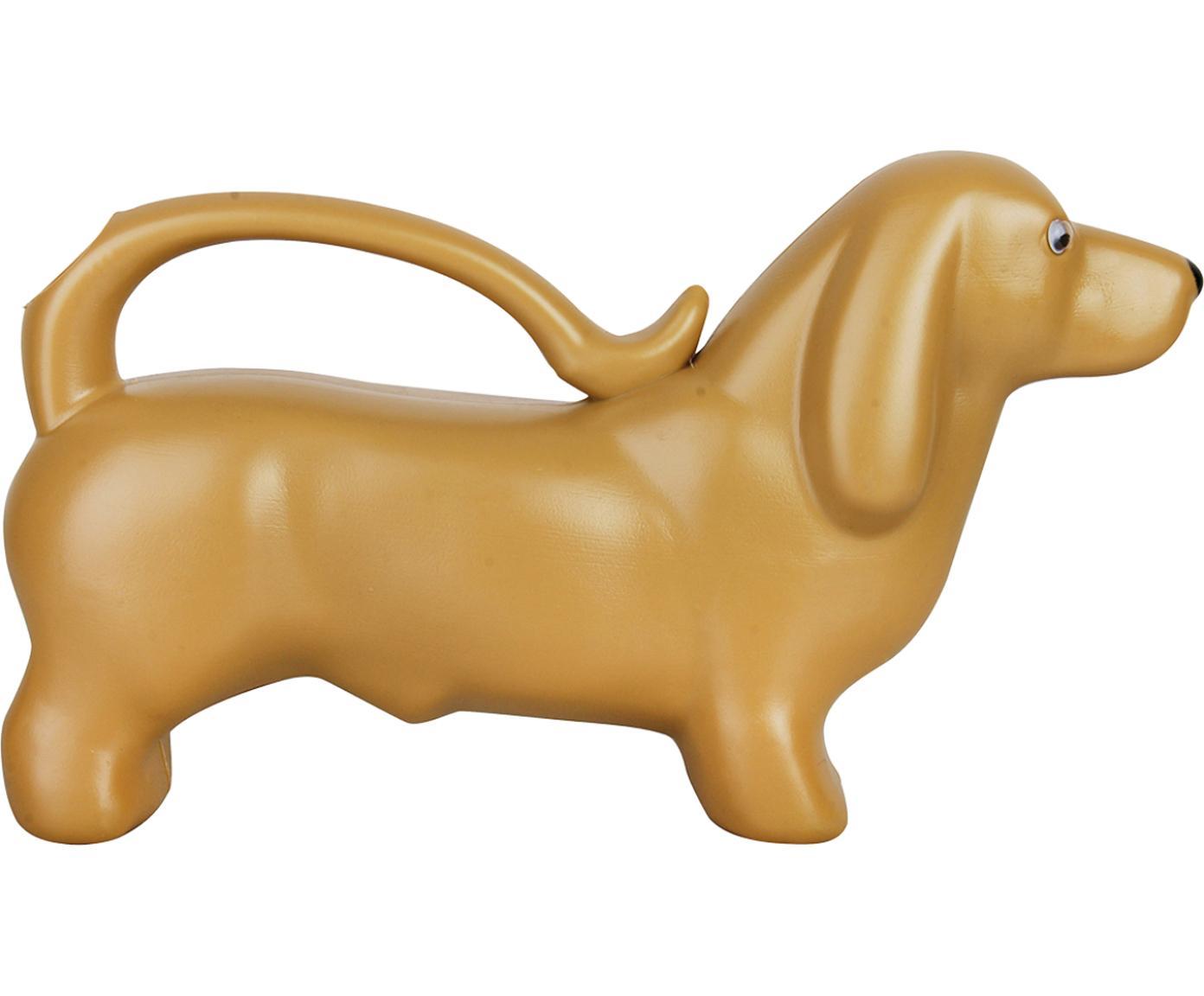 Regadera Dackel, Plástico, Dorado, L 34 x Al 20 cm