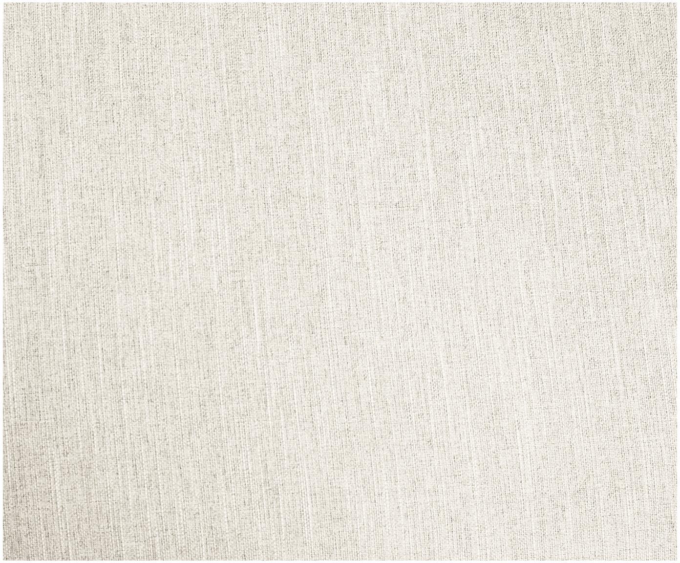 Divano 3 posti in tessuto beige Melva, Rivestimento: poliestere 35.000 cicli d, Struttura: legno di pino massiccio, , Piedini: legno di pino, Tessuto beige, Larg. 240 x Prof. 101 cm