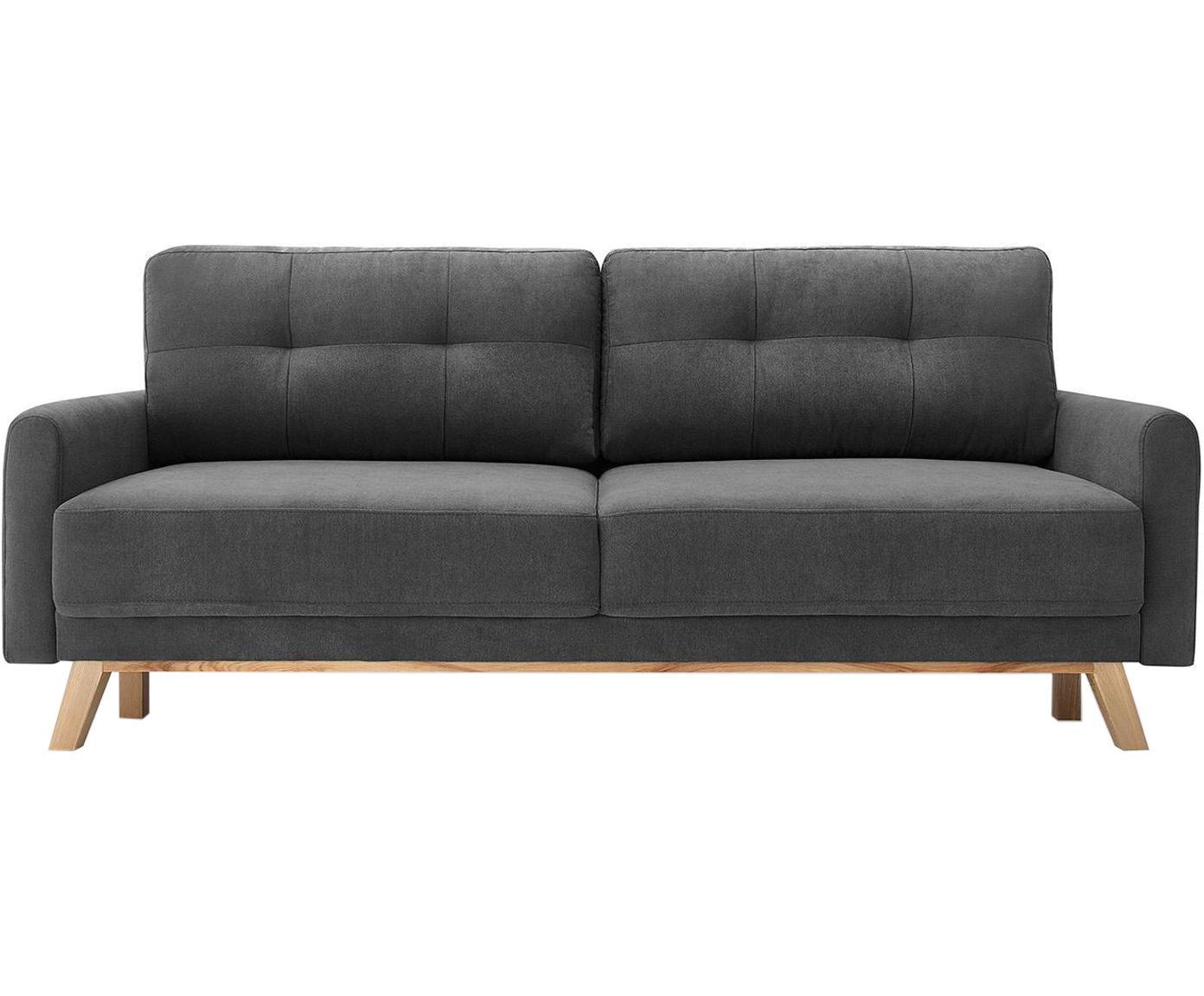 Sofá cama Balio (3plazas), Tapizado: tela, Gris , An 216 x F 102 cm
