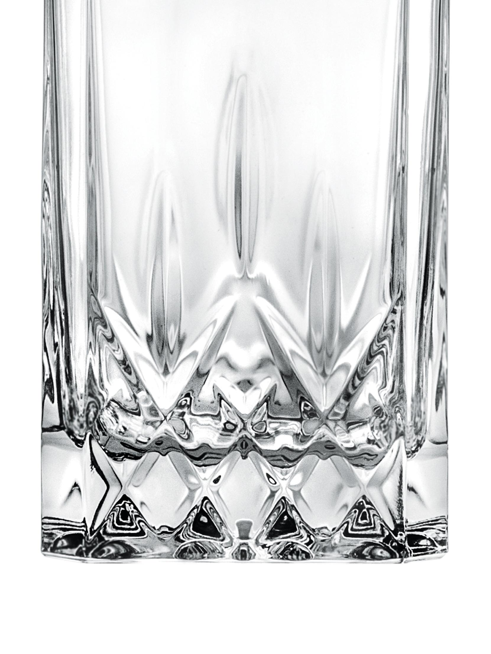 Carafe en cristalà embossage Opera, Transparent