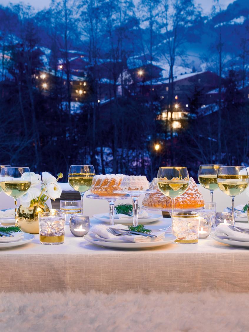Wassergläser Deco mit Goldelementen, 8er-Set, Glas, Transparent, Goldfarben, Ø 8 x H 9 cm