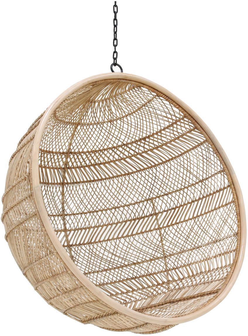 Rotan hangstoel Structure, Rotankleurig, Ø 108 x H 83 cm