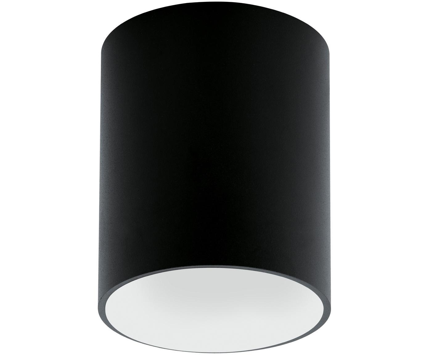 LED Deckenspot Marty, Metall, pulverbeschichtet, Schwarz,Weiß, ∅ 10 x H 12 cm