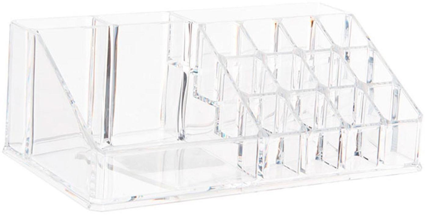 Organizador Senetano, Acrílico, Transparente, An 22 x Al 8 cm