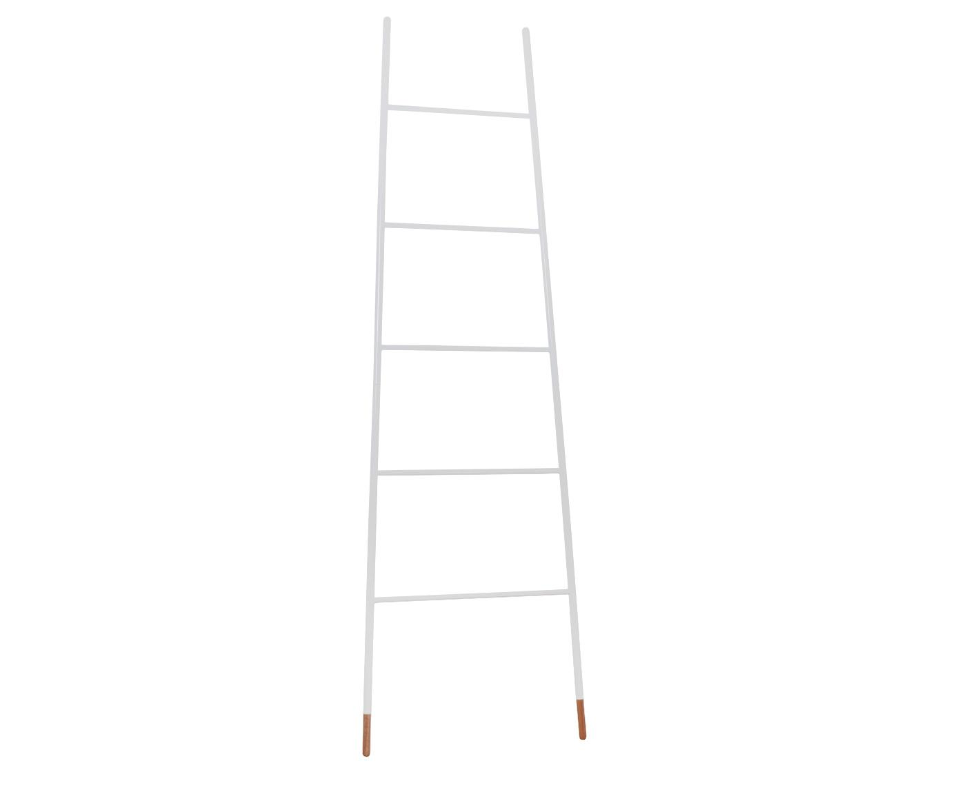 Escalera toallero Rack Ladder, Blanco, An 54 x Al 175 cm