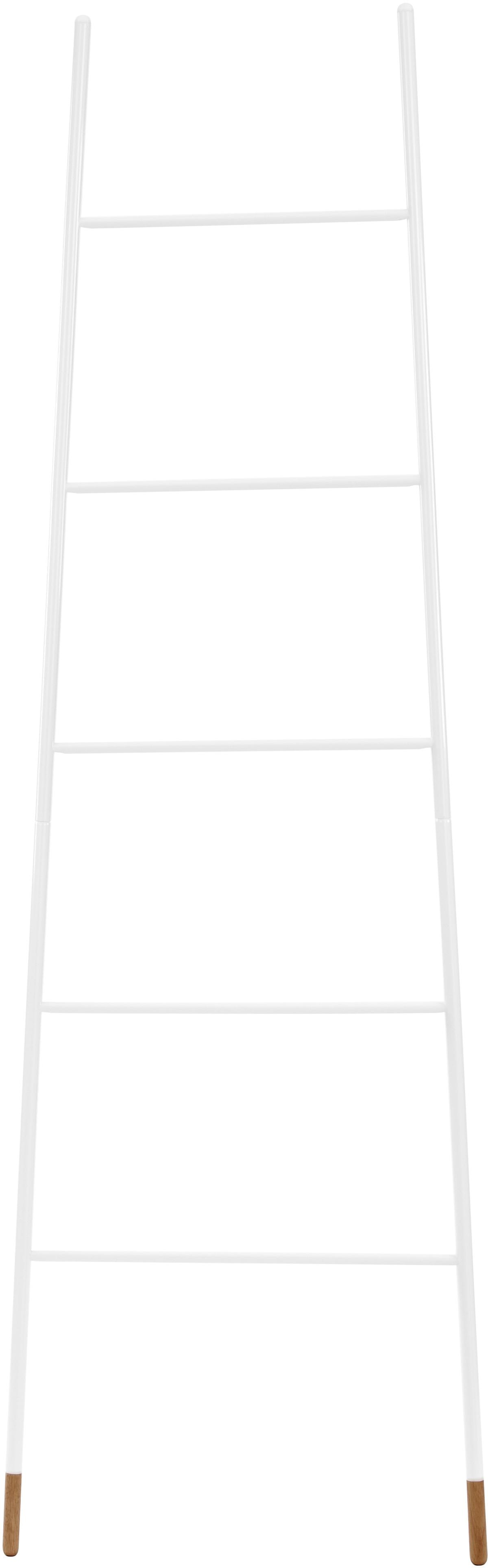 Handtuchleiter Rack Ladder in Weiss, Weiss, 54 x 175 cm