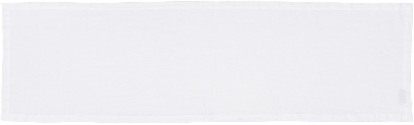 Runner da tavolo in lino Ruta, Candido, Larg. 40 x Lung. 140 cm