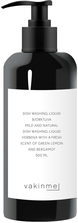Spülmittel Björktuva, Behälter: Kunststoff, Schwarz, 500 ml