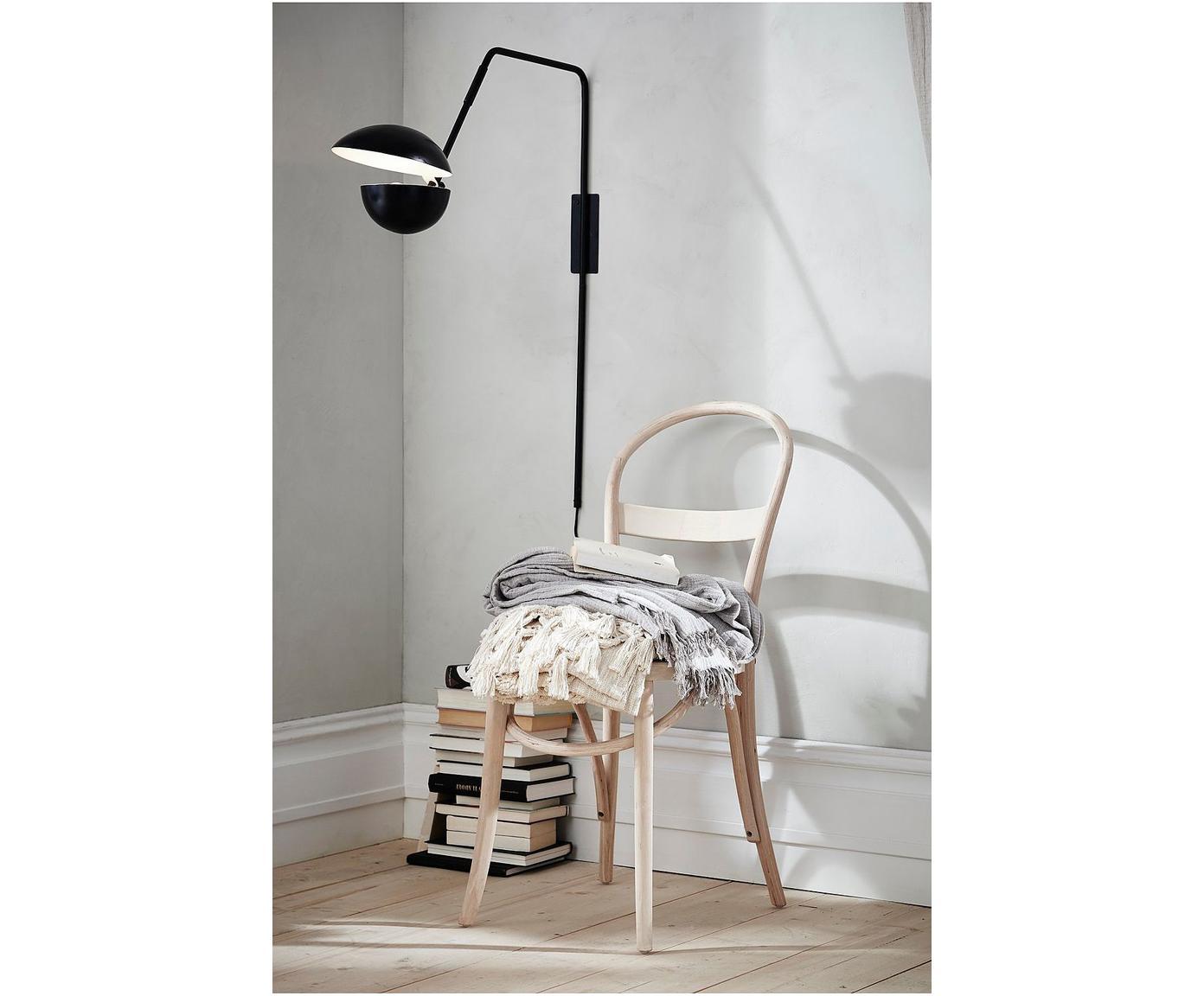 Sedia in legno Rippats, 2 pz., Struttura: legno di betulla, Seduta: rattan, Betulla, Larg. 39 x Prof. 53 cm