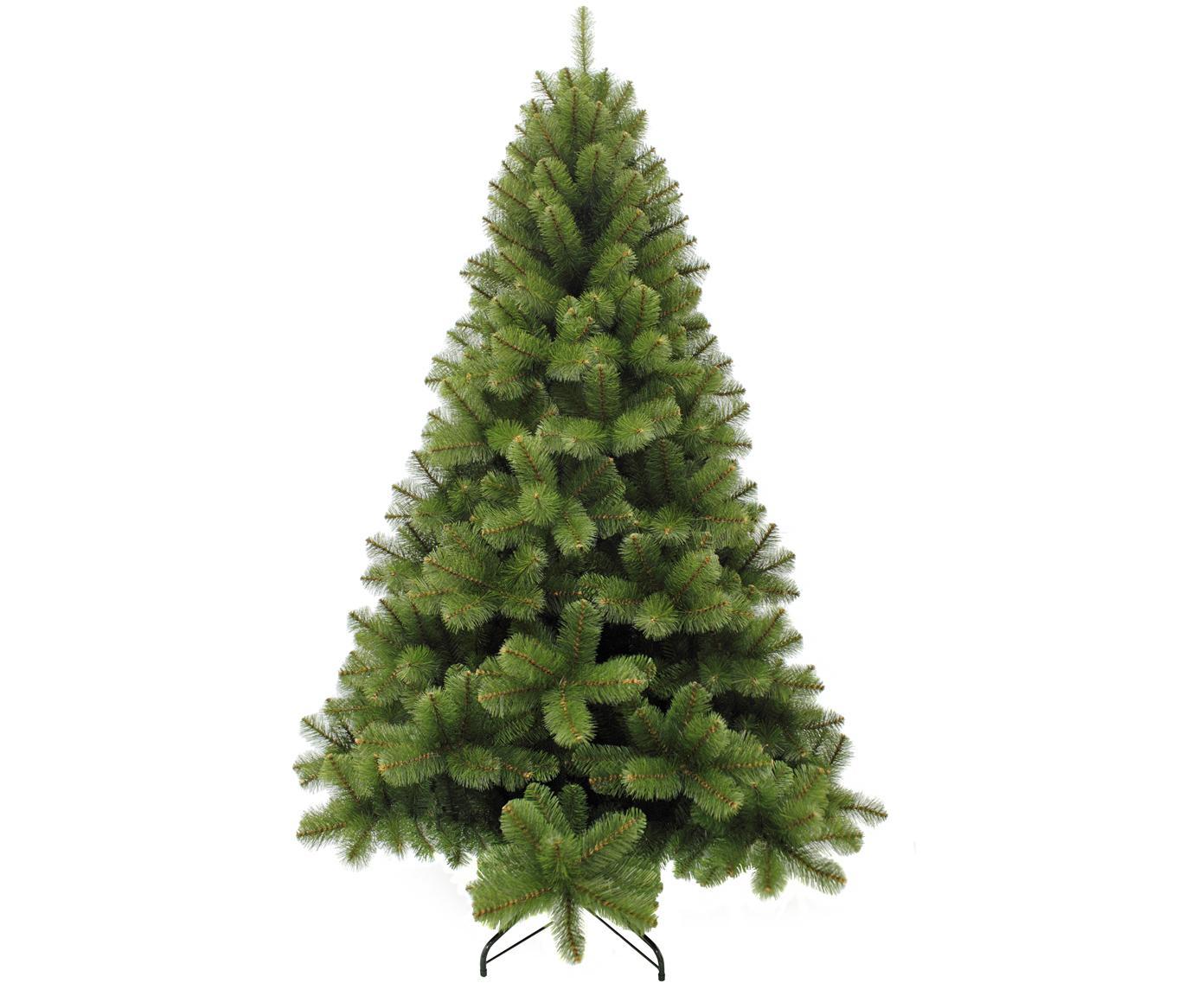 Decoratieve kerstboom Rochdale, Groen, Ø 107 x H 185 cm