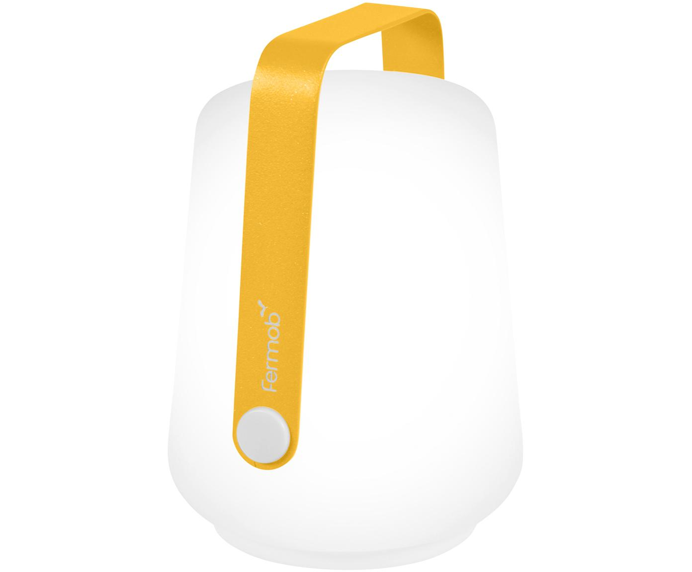 Zewnętrzna lampa mobilna LED Balad, 3 szt., Żółty, Ø 10 x W 13 cm