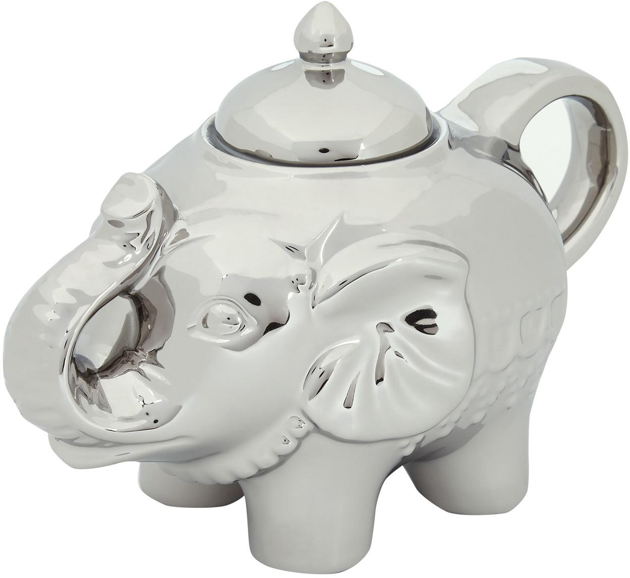 Cukiernica Elephant, Platynowy, 15 x 12 cm