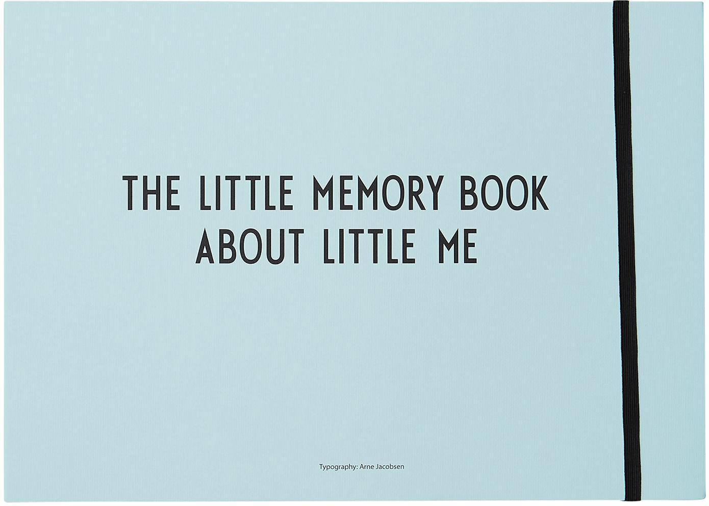Libro dei ricordi Little Memory Book, Carta, Blu, Larg. 30 x Alt. 21 cm