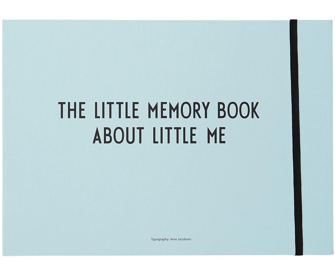 Księga pamiątkowa Little Memory Book, Papier, Niebieski, S 30 x W 21 cm