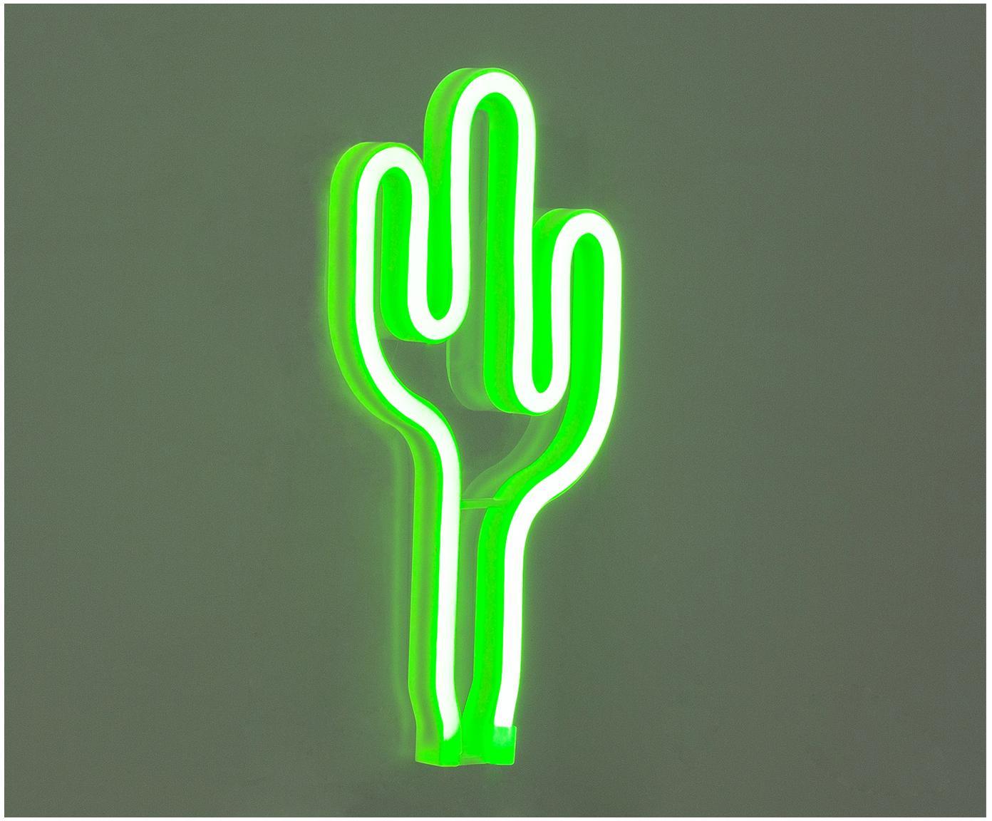 Nástěnné LED svítidlo Cactus, Zelená