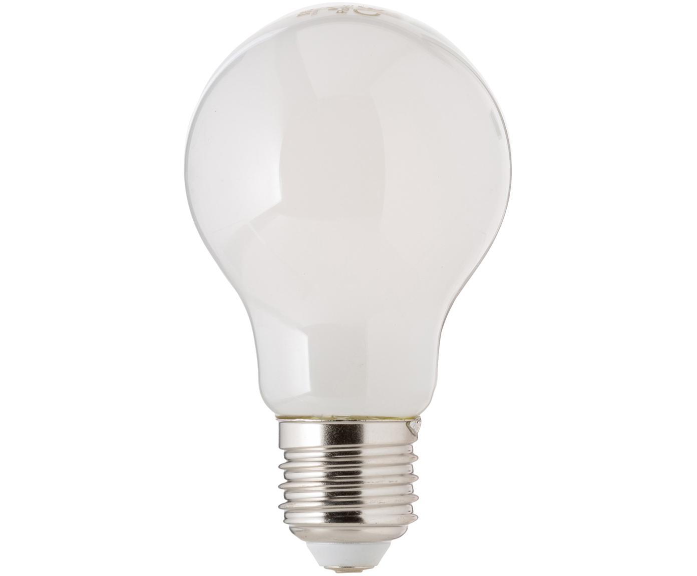 Dimmbare LED Leuchtmittel Bafa (E27/8.3W), 3 Stück, Leuchtmittelschirm: Kunststoff, Leuchtmittelfassung: Aluminium, Weiss, Ø 8 x H 10 cm