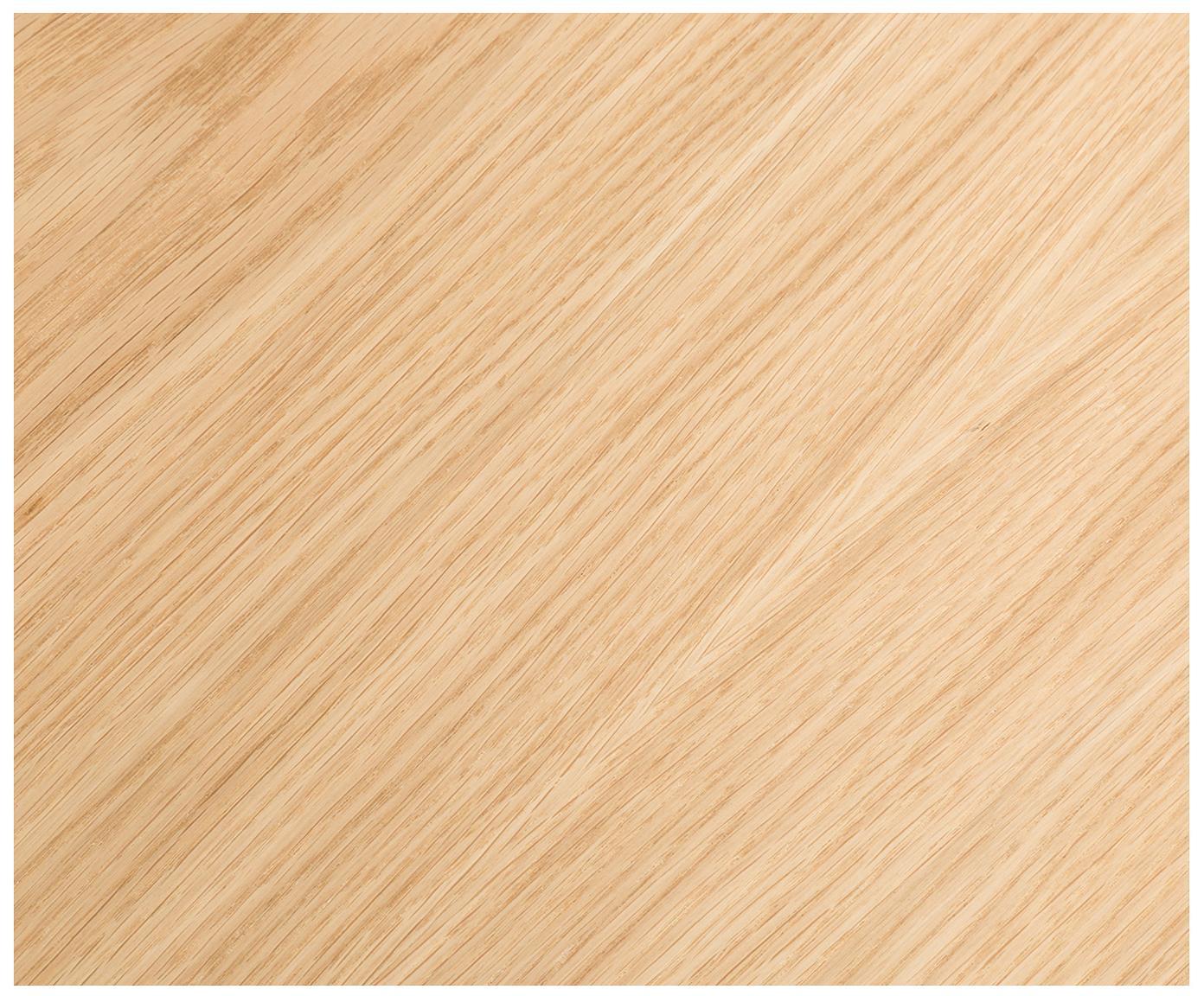 Bureau Leo, Eikenhoutkleurig, wit, B 120 x D 60 cm