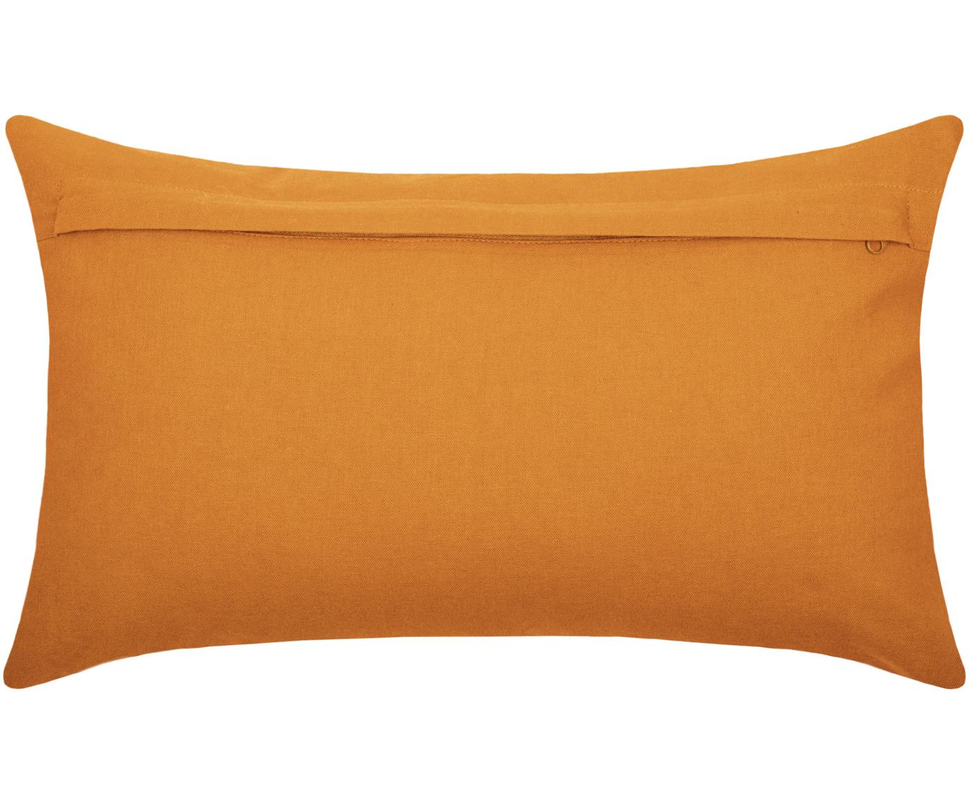 Coussin décoratif rectangulaire Gopher, Jaune moutarde