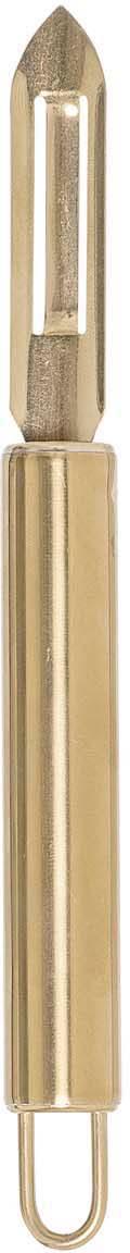 Pelador Mingolet, Acero inoxidable, recubierto, Latón, L 20 cm