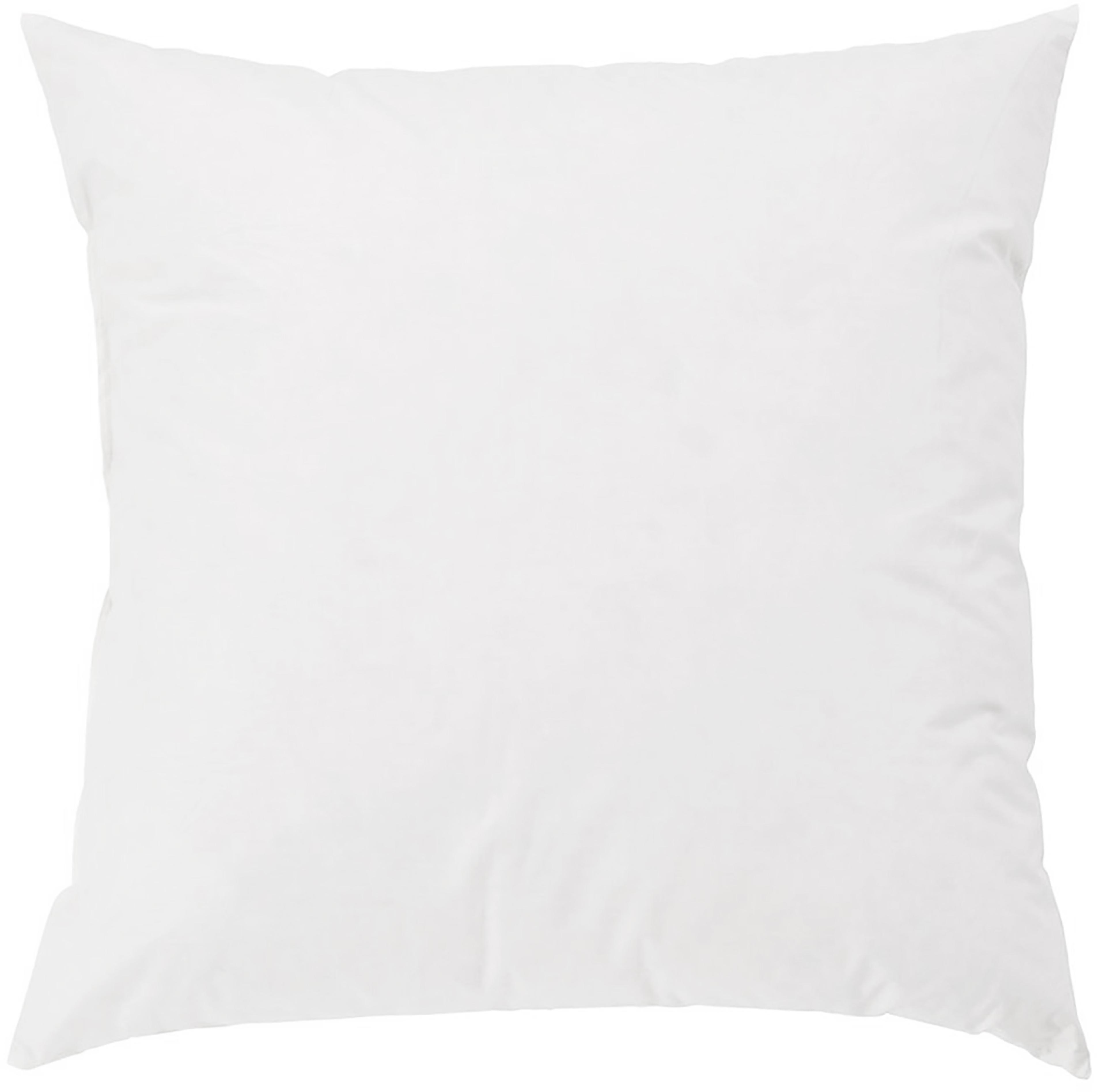 Relleno de cojín Komfort, 50x50, Funda: percal Mako, 100%algodón, Blanco, An 50 x L 50 cm