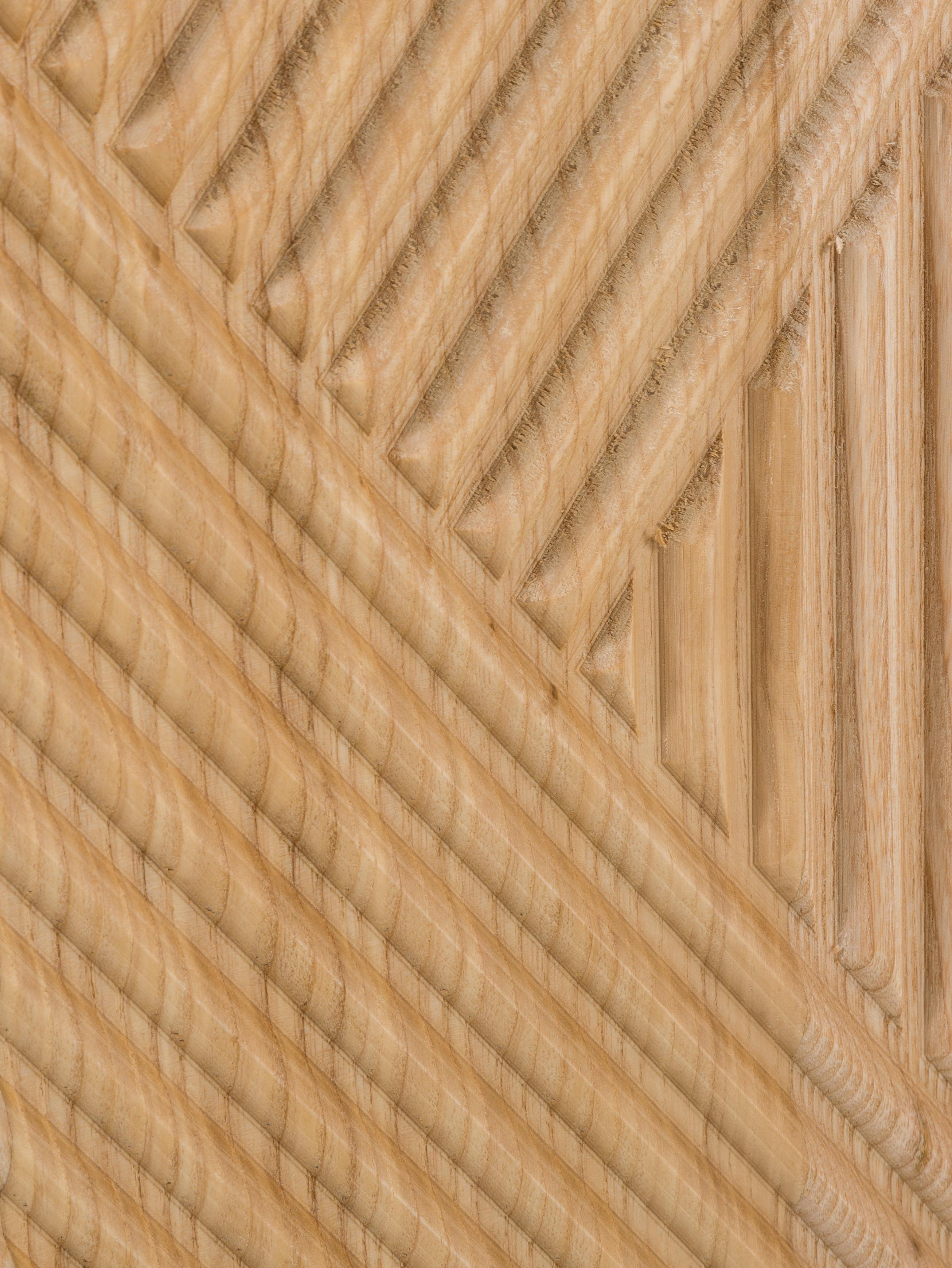 Credenza in legno massello di mango Louis, Legno massello di mango verniciato, Legno di frassino, Larg. 177 x Alt. 75 cm